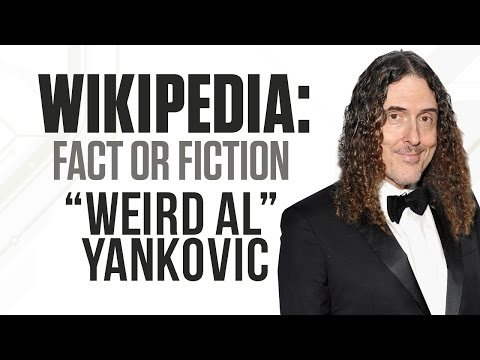 'Weird Al' Yankovic Plays 'Wikipedia: Fact or Fiction?'