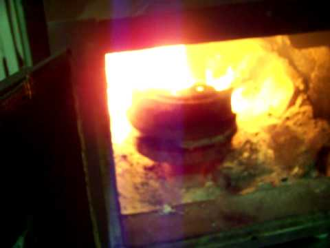 Simple waste oil burner 1
