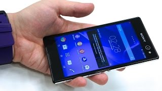 New Sony Xperia C3 Review