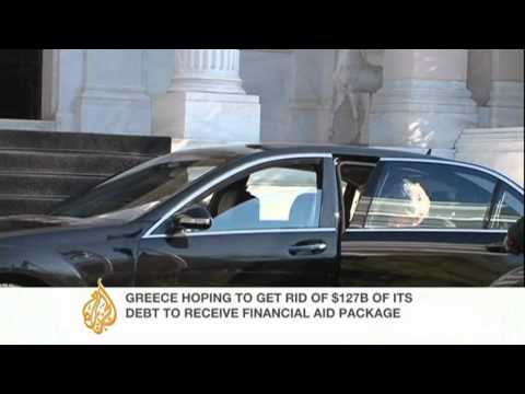 John Psaropoulos reports on Greek debt