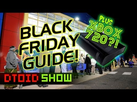 Gamer's Guide to BLACK FRIDAY! Xbox 720 RUMORS, PlayStation All-Stars Battle Royale REVIEW, & more!