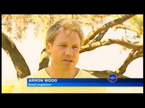 Arron Wood on Perth TEN News - Climate Warriors, 2008