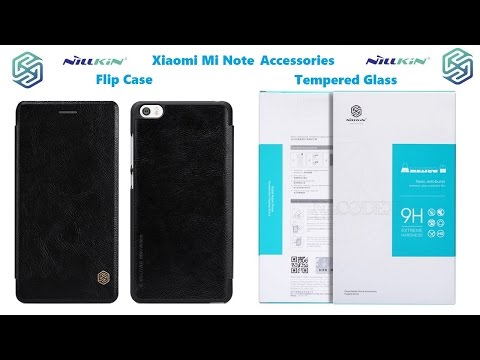 Аксессуары Xiaomi Mi Note,Nillkin Tempered Glass,Nillkin Flip case +Nillkin Tempered Glass IPhone 4