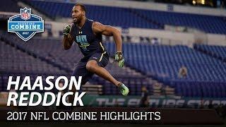 Haason Reddick (Temple, DL) | 2017 NFL Combine Highlights
