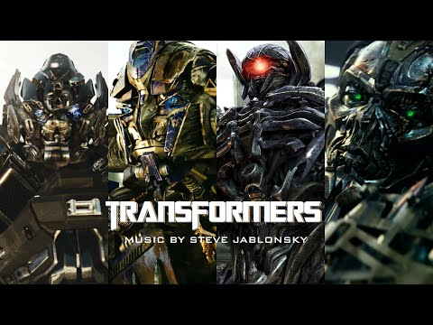 Steve Jablonsky - Transformers 1-4 Score (2-Hour Epic Collection) [Interactive]*