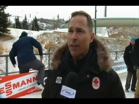 Steve Podborski: Chef de Mission, Sochi 2014  takes V.I.P. bobsled run