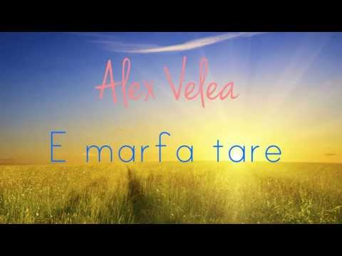 NEW SINGLE Alex Velea - E marfa tare (Audio)