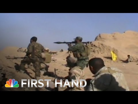 RAW: Iraqi Forces Battle ISIS In Tikrit   NBC News