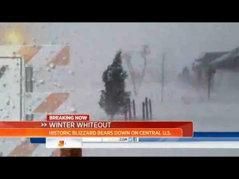 US Midwest Hit By A Second Major Winter Storm