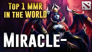 Miracle- Queen of Pain 8104 Highest MMR Dota 2