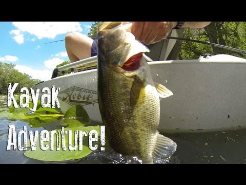 Kayak Fishing Adventure for the Guadalupe Bass