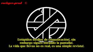 Watch Crass You Can Be Who video