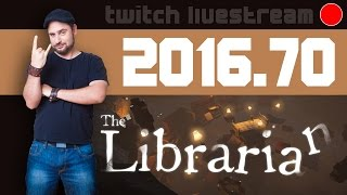 Livestream 2016 #70 - Philosophie, The Librarian
