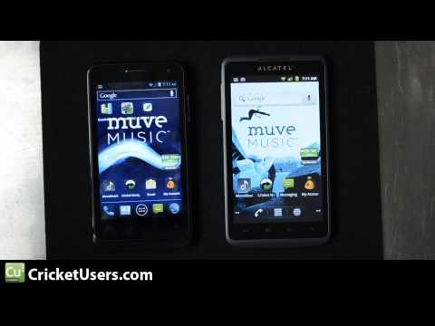 CricketUsers.com - ZTE Engage V8000 / Alcatel Authority Specification Comparison