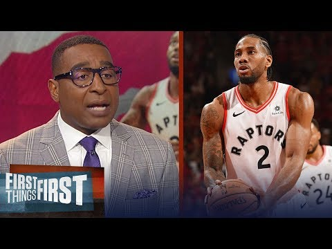 Kawhi, Raptors take Game 3 in double OT over Bucks - Nick & Cris react | NBA | FIRST THINGS FIRST