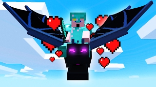 TAMING THE ENDER DRAGON! (Minecraft #5)
