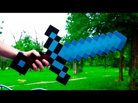 Меч с майнкрафт! Алмазный меч с Алиэкспресс! Minecraft