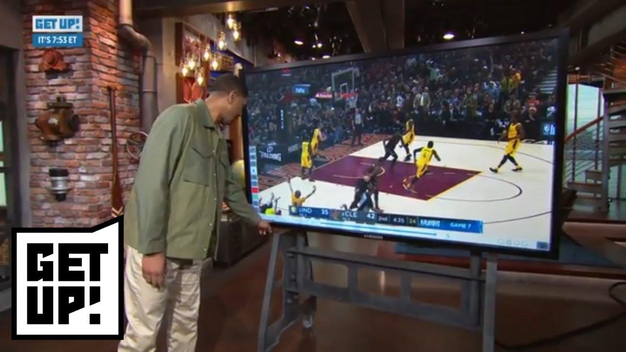 Jalen Rose breaks down film of LeBron James vs. Pacers in Game 7   Get Up!   ESPN