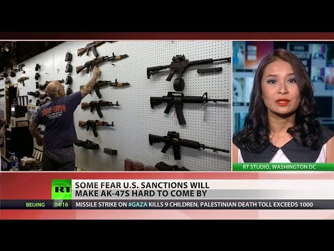 AK-47 buying frenzy sparked by sanctions against Russia