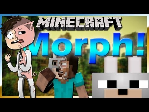 Minecraft Mods - iChun's Morph Beta! 1.6.2 Review and Tutorial, TRANSFORM INTO MONSTERS!!!!