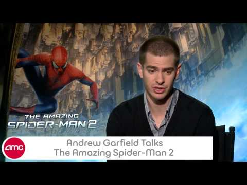 Andrew Garfield Talks THE AMAZING SPIDER-MAN 2 With AMC