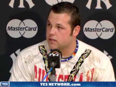 Joba Chamberlain press conference Video