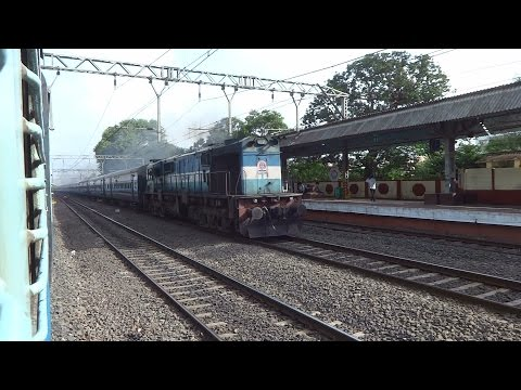 [2 in 1 Diesel Treat] Indrayani Express with WDM3D + Udyan Express with WDP4B : Onboard Sahyadri Exp