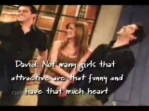 David Schwimmer and Jennifer Aniston  great video
