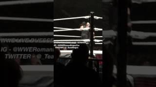 Roman Reigns vs Kevin Owens WWE Live 2017