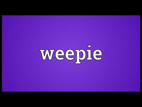 Header of weepie