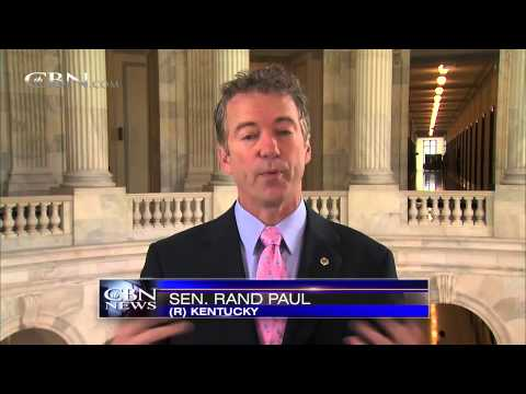 Sen. Rand Paul Appears on CBN's The 700 Club with Pat Robertson - Nov. 9, 2014