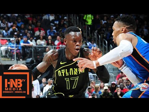 Oklahoma City Thunder vs Atlanta Hawks Full Game Highlights / March 13 / 2017-18 NBA Season