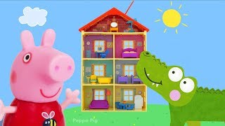 Peppa Pig Toy Collection   Crocodile Hiding in Peppa Pig Playset, PJ Masks, Paw Patrol Toys and More