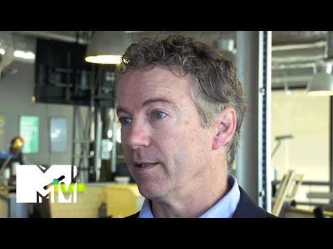 Senator Rand Paul Talks Tech, Social Media And Youth Issues At SXSW | MTV