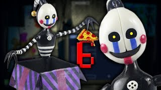 "SECURITY PUPPET l FNAF6 l PIZZERIA SIMULATOR ""TUTORIAL"" ✔POLYMER CLAY ✔COLD PORCELAIN"