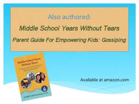 Empowering Kids: Gossiping Book Trailer
