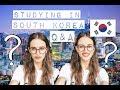 Вопрос-Ответ: УЧЕБА И ЖИЗНЬ В КОРЕЕ ☼ Q&A