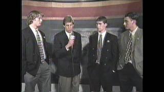 Patrick Marleau, Joe Thornton and Roberto Luongo pre draft interview on HNIC