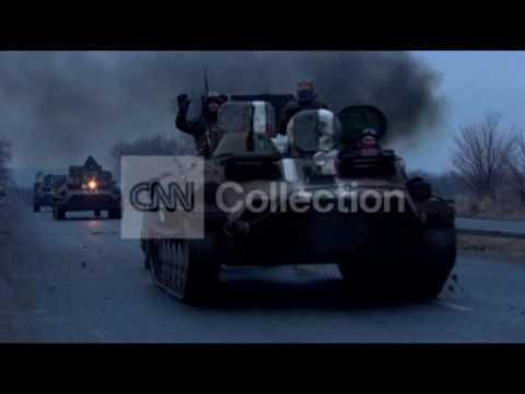 UKRAINIAN FORCES WITHDRAW FROM EASTERN UKRAINE