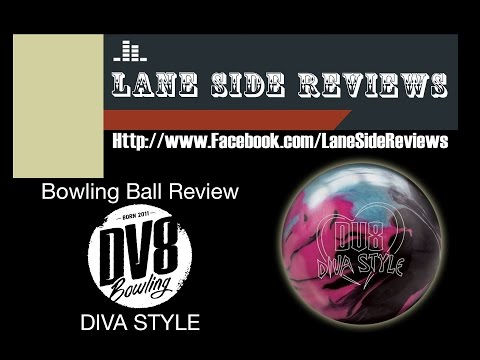 DV8 DIVA STYLE Bowling Ball Review By Lane Side Reviews