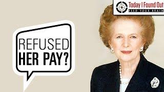 Margaret Thatcher and Her Frugal Ways
