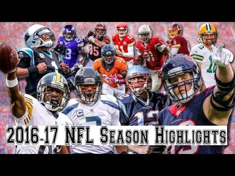 2016 17 Nfl Season Highlights