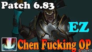 Dota 2 - Patch 6.83 - Chen Fucking OP - A new Test of faith EZ