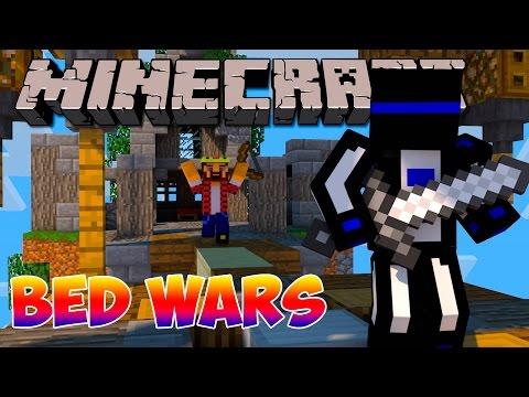 Minecraft Bed wars : Воюем на воздушных шарах #91