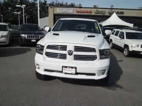 2014 Dodge Ram 1500 Sport White 2013 Dodge Ram 1500 Sport