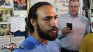 "Keith Thurman on Mayweather ""The old man is old..I'm ready for him to be history!"""