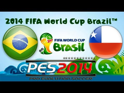 PES 2014 FIFA World Cup Brazil vs Chile