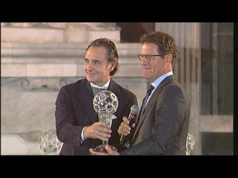 Fabio Capello premiato alla Hall of Fame del Calcio Italiano 2013