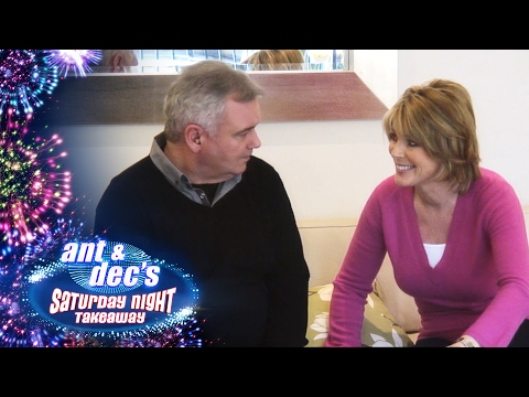 I'm A Celebrity Get Out Of Me Ear: Ruth Langsford & Eamonn Holmes - Saturday Night Takeaway