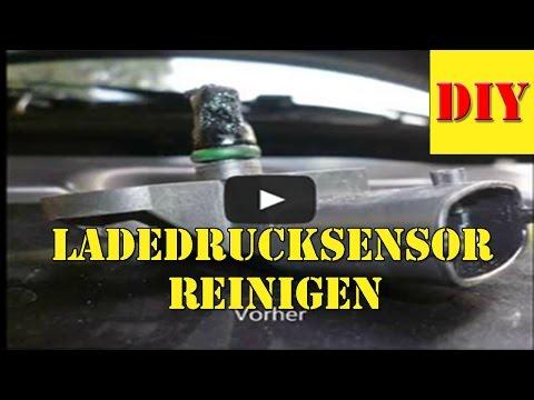 Fiat Doblo Fehlercode P0237 Turbolader Ladedruck Sensor Reinigen - Saugrohrdrucksensor